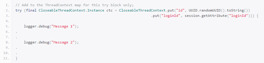 log4j2之ThreadContext – 攻城狮·正